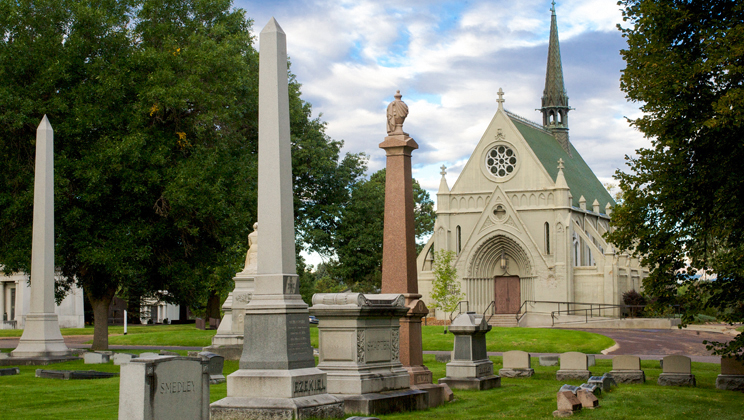 Historic Fairmount Cemetery Tour with Tom Noel & Dennis Gallagher of Irish Network Colorado